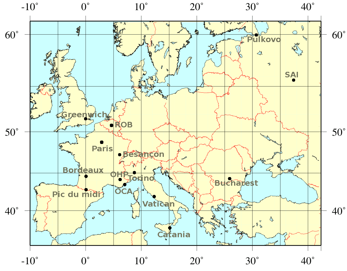 Observatories - Europe